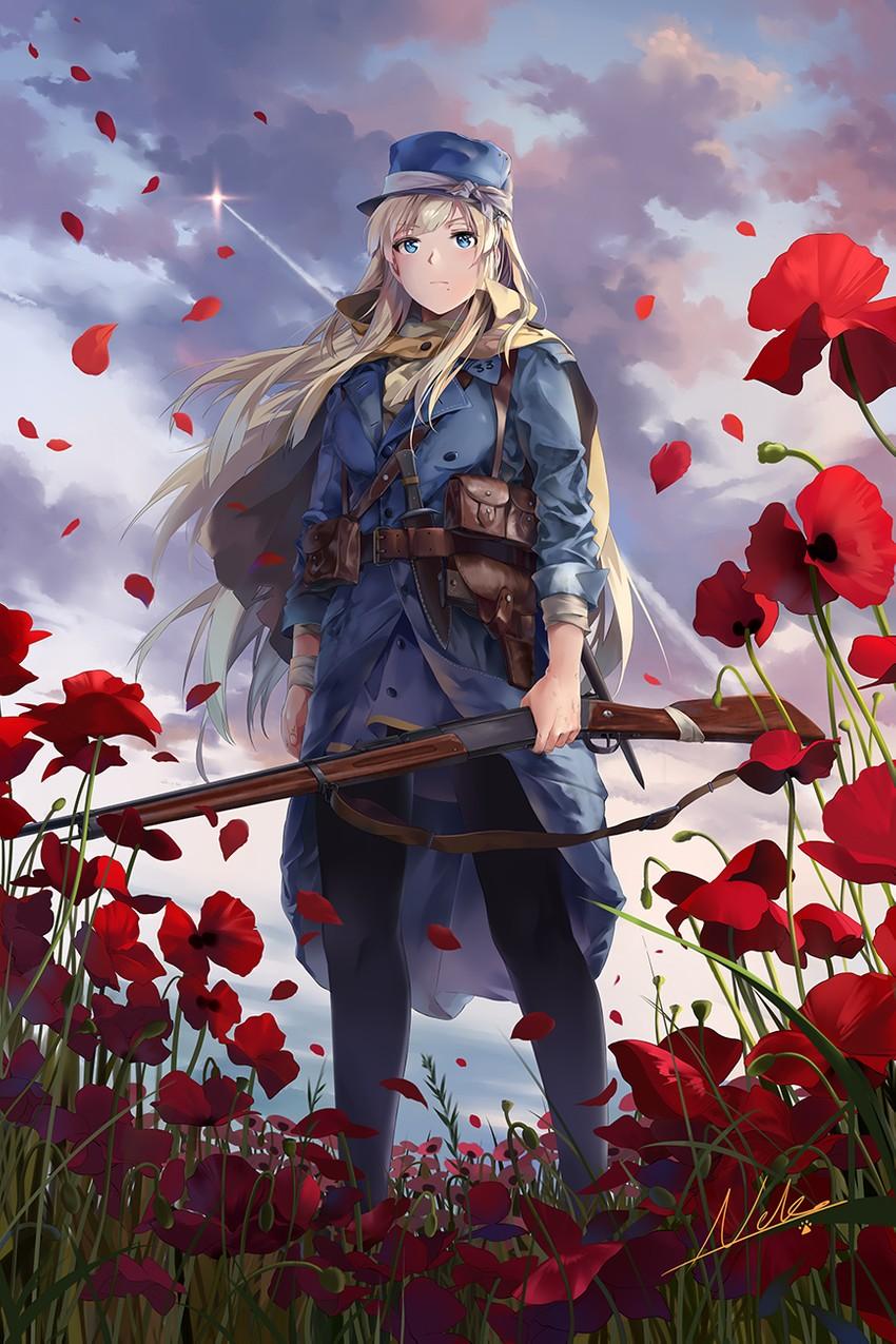 battlefield (series) and etc drawn by neko (yanshoujie)