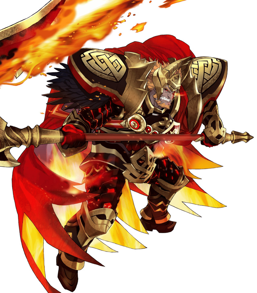 surtr (fire emblem and fire emblem heroes) drawn by maeshima shigeki