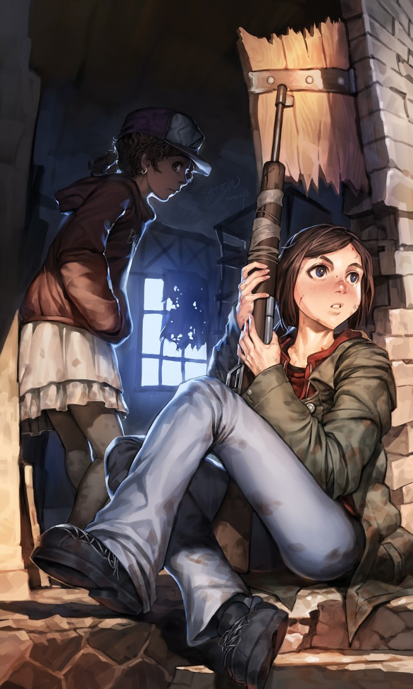 Ellie last of us hentai