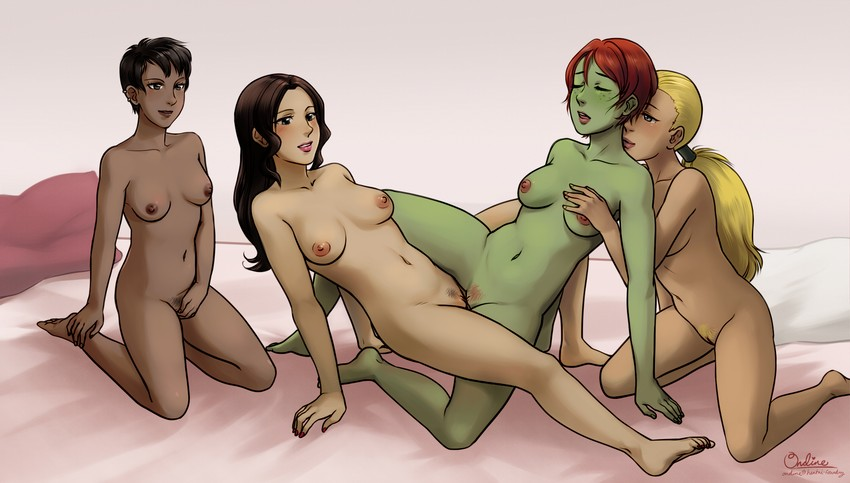 young justice nude girls