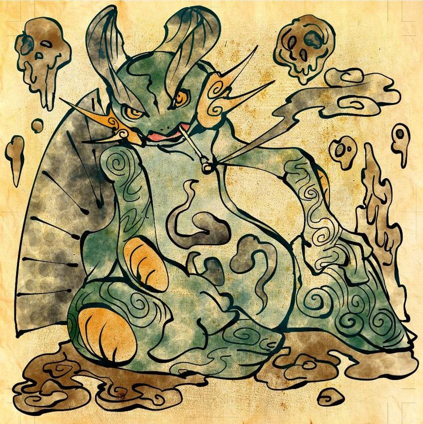 swampert (pokemon) drawn by shimanoko