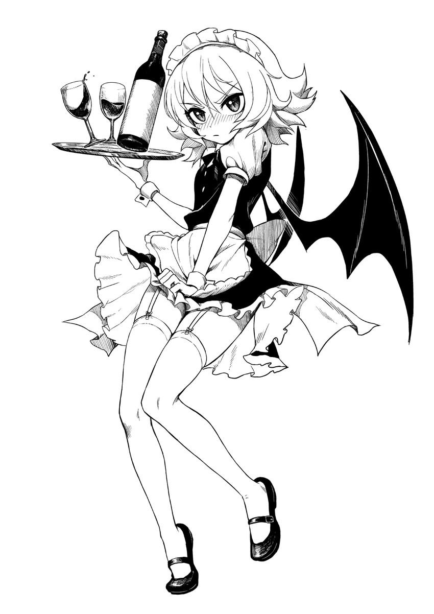 remilia scarlet (touhou) drawn by fkey