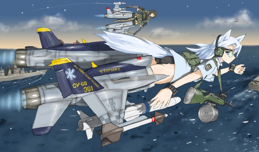 strike witches, strike witches 1991, and world witches series drawn by dakku (ogitsune)