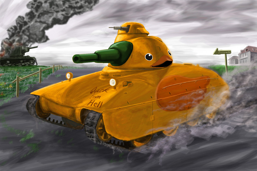 world of tanks drawn by yoyokkun