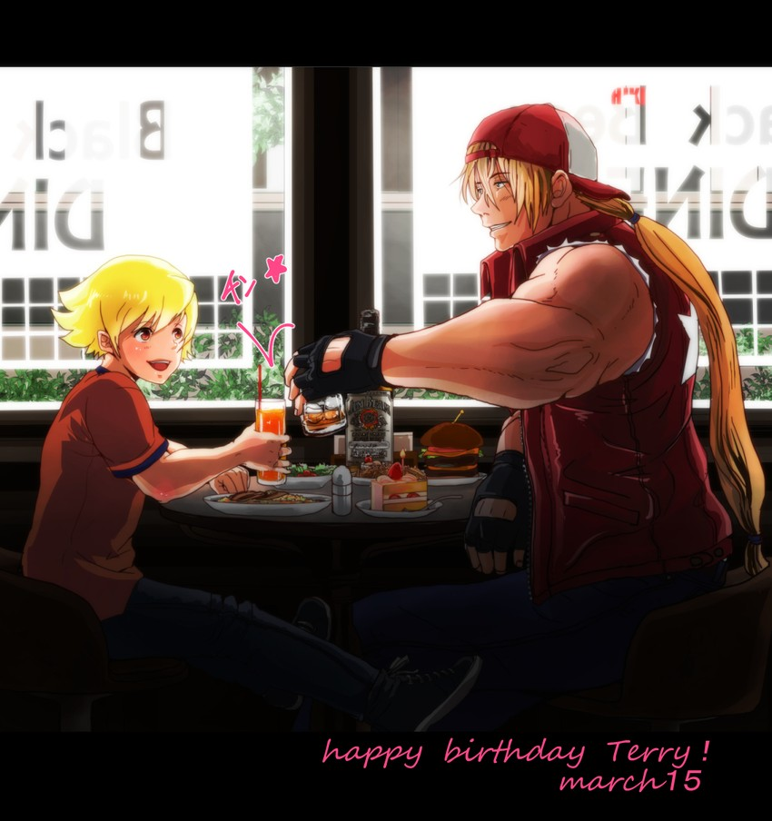 Terry Bogard And Rock Howard Fatal Fury Drawn By Tentenkingyo Danbooru Some content is for members only, please sign up to see all content. rock howard fatal fury drawn