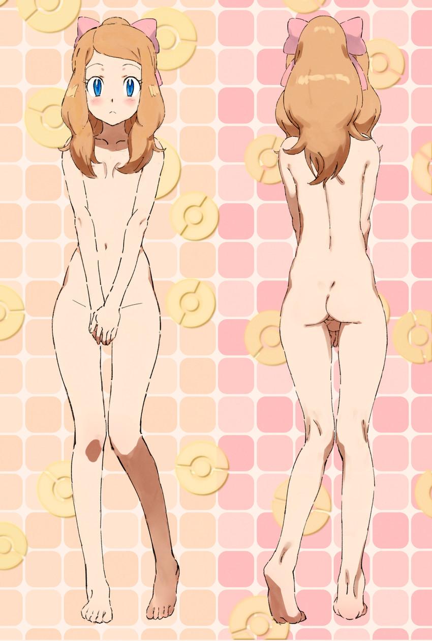 Pokemon Serena Nackt