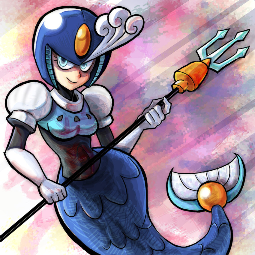 splash woman (rockman (classic) and etc) drawn by jonathan kim